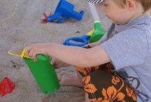 Creative Toys and Ideas for Kids to have Fun at the Beach / Great beach ideas and toys for kids to have fun at the beach!