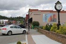 West Jefferson, NC / A small mountain town located in the North Carolina Mountains.  It is a town of interesting friendly people, who appreciates their mountain heritage with a contemporary flair.  Come visit, you may want to stay!