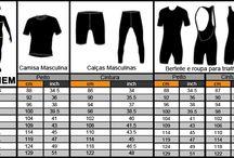 Tabelas medidas homem