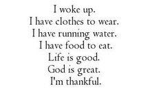 Grateful words