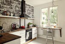 Kitchen / the thoughts about kitchen design / by Anna Bondarenko