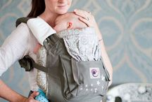 Carry Me Close! / At Luxe Little we have a great selection of slings, wraps and structured carriers to help you keep your baby close to your heart with your hands free.