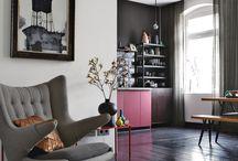 Camera de zi / Un spatiu deschis, luminos care incurahjeaza discutiile productive si buna dispozitie.