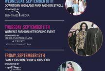 HP Fashion Week / Highland Park Fashion Week is September 8-12, 2014. Visit www.downtownhp.com/fashion for details. #HPFashionWeek