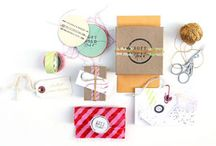 Pretty Packaging / Inspiring ideas, crafts, products, instructions, printables, patterns, projects, resources, and more for pretty packaging.