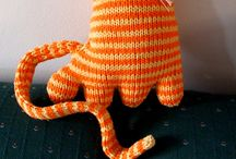 Knit animals and toys