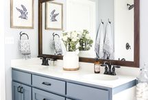 So Fresh & Clean {Master Bath}
