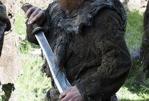 Tormund Matagigantes / Personaje de la serie Juego de Tronos interpretado por el actor Kristofer Hivju.