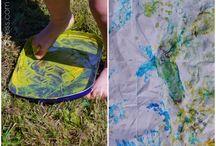 Aktivity pro batolata / Nápady na zabavení dvou a tří letých dětí