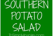 Savory Side Dish Recipes / Any meal is made better with the right side dishes! Whether it's potatoes, yummy veggies, or a pasta salad, all of these recipes are a great compliment to dinner (and many are great all on their own!)