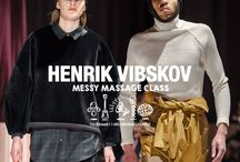 Henrik Vibskov『The Messy Massage Class』collection. / http://blog.raddlounge.com/?p=40296