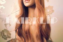 Pelucas realistas de fibra sintética térmica HAIRKLIP / Nuestra pelucas, con gran densidad de cabello, están confeccionadas con una fibra sintética suave y de apariencia muy natural. Además, puedes moldearla con plancha y con secador.