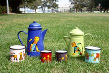 Smaltum enamel products from Rainbow Tongue / Rainbow Tongue stocks high quality European made enamelware for indoor and camping trips.