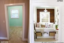Window Seat Inspiration / I have to build a window seat in our bedroom and I need ideas!