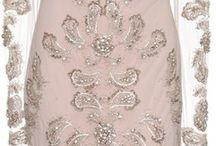 MANCHESA kurdele nakışlı elbise