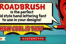 Fonts & Type Design By Kustomtype / All fonts made by Kustomtype http://www.myfonts.com/foundry/Kustomtype/ http://www.facebook.com/Kustomtype If you like it share & pin it!