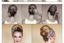 Retro make-up & hair