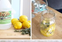 SAFE DIY RECIPES FOR CLEANING PRODUCTS