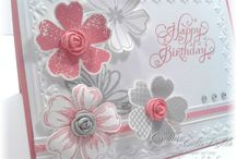 Pansy punch SU / Stampin Up goodies  - current items available to purchase from http://bagsthatone.stampinup.net/
