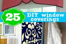 Window Treatments (ideas, tips &DIY)