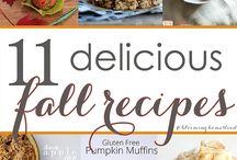 Fall - Recipes / Fall flavors and recipes for the autumn season.