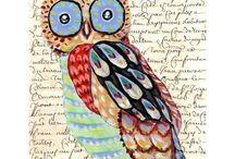 owls / by Jennifer Hughes