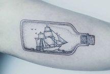 tatuaz statek