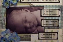 scrapbooking -baby boy