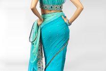 the art of wearing a sari