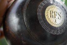 1928 Lignum Vitae Number 1 Lawn bowls