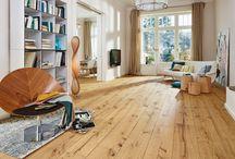 """MEISTER Lindura hout vloeren / """"De bijzonder robuuste houten vloer""""  Lindura is een houten vloer die bijzonder veel uithoudt. Reden daarvoor is zijn speciale opbouw. Een deklaag van echt hout wordt samengeperst met innovatieve 'Wood Powder'. Deze mix van houtvezels en minerale bestanddelen maakt het oppervlak van Lindura extreem belastbaar."""