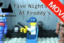 Lego FNAF Lego Five Nights At Freddy's
