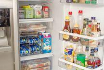rangements frigo