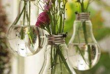 DIY/Upcycling with flowers / Endeckt hier die schönsten DIY-Ideen mit Blumen und Pflanzen.