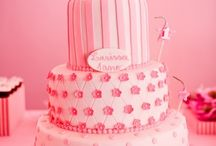 parties...pink party... / first birthday party ideas for little miss macy / by Debbie Young