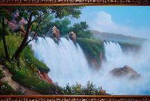 Картины Водопады / Картины Водопады