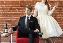Mad Men Inspired Wedding / St. Louis Bride & Groom Magazine Mad Men Inspired Wedding Photo Shoot