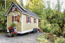 tiny homes / by Amy Hawkins