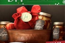 DIY Apple Gifts / It's easy to give the gift of Pennsylvania Apples with these fun DIY Apple Gift ideas.