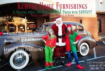 Christmas / We celebrate Christmas for over a month here at Kemper Home Furnishings! We bake cookies, & serve fresh coffee daily!