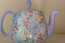 teapots and china / by Denise Pearre