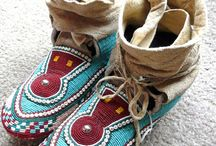 Indian mocassins / by Georges Castelbon