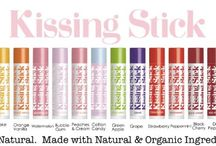 Kissing Sticks flavored lip balms by TINte Cosmetics / A collection of our Natural Flavored Lip Balms we call Kissing Sticks. 97% Natural.  Formulated with Certified Organic & Natural Ingredients. 16 delicious flavors to choose from / by TINte Cosmetics