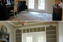Obudowa okien, drzwi, kominka