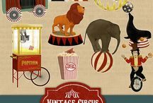 Circus theme objects