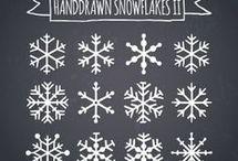 snowflakes drawing