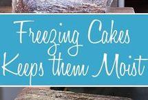 freezing cake