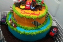 Stan's monster truck cake
