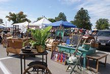 Flea Markets & Antique Festivals