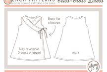 szycie sukienek małych i duzych z wykrojami
